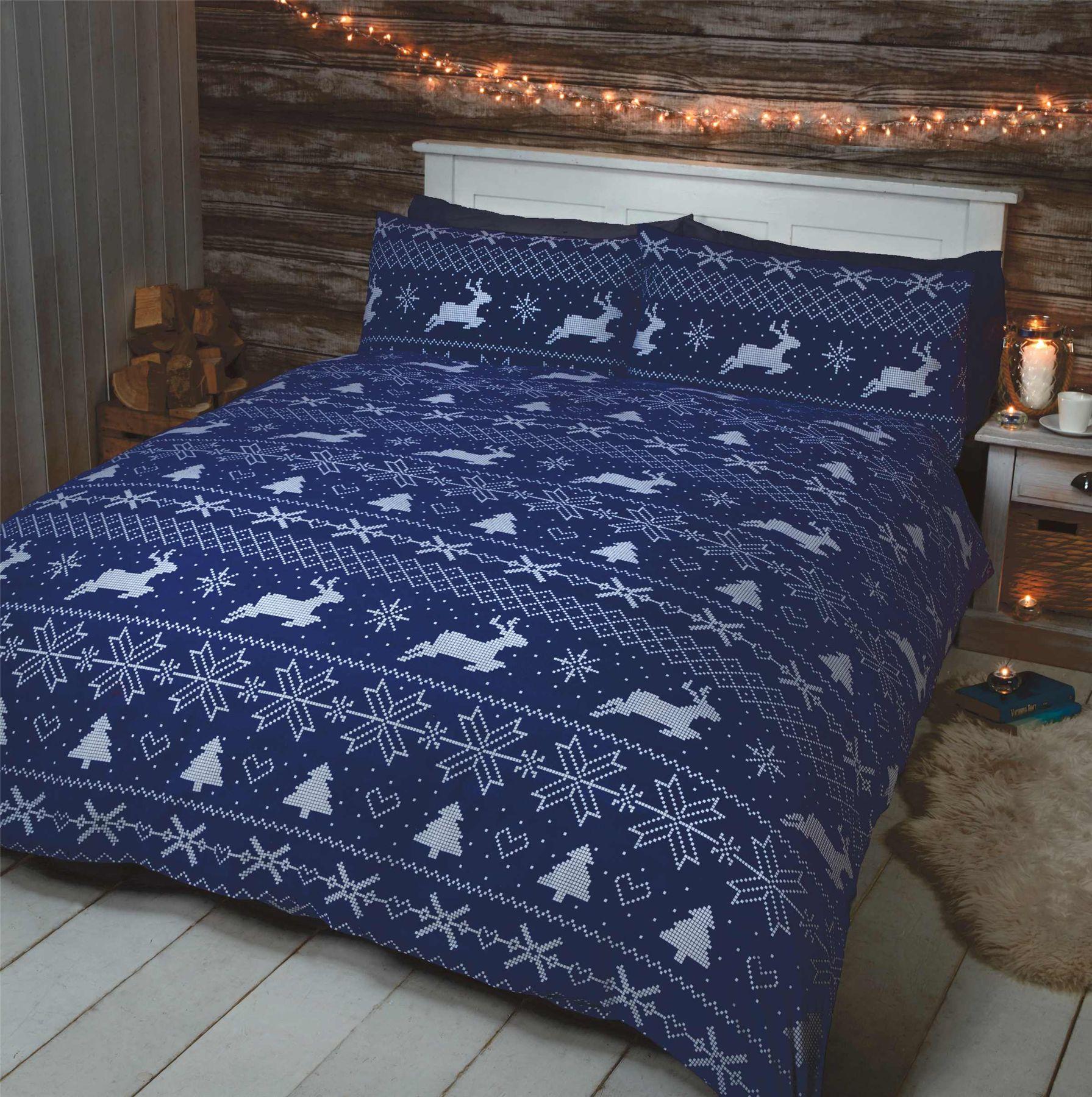 100 Cotton Flannelette Quilt Duvet Cover Bedding Bed Sets