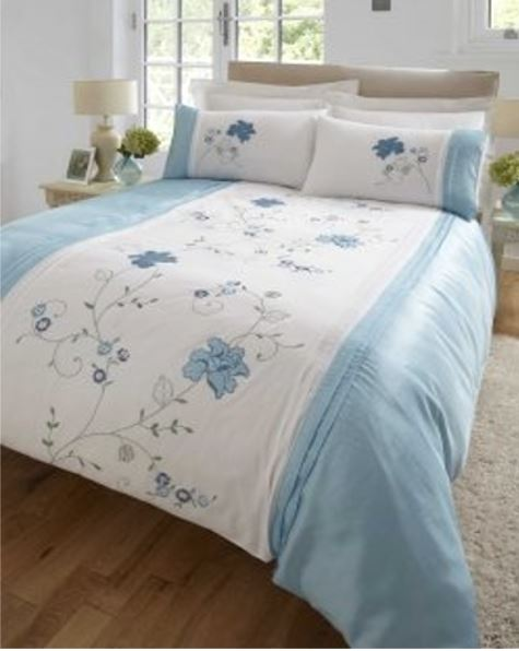 Floral Modern Quilt Duvet Cover & Pillowcase Bedding Bed Sets Flowers New