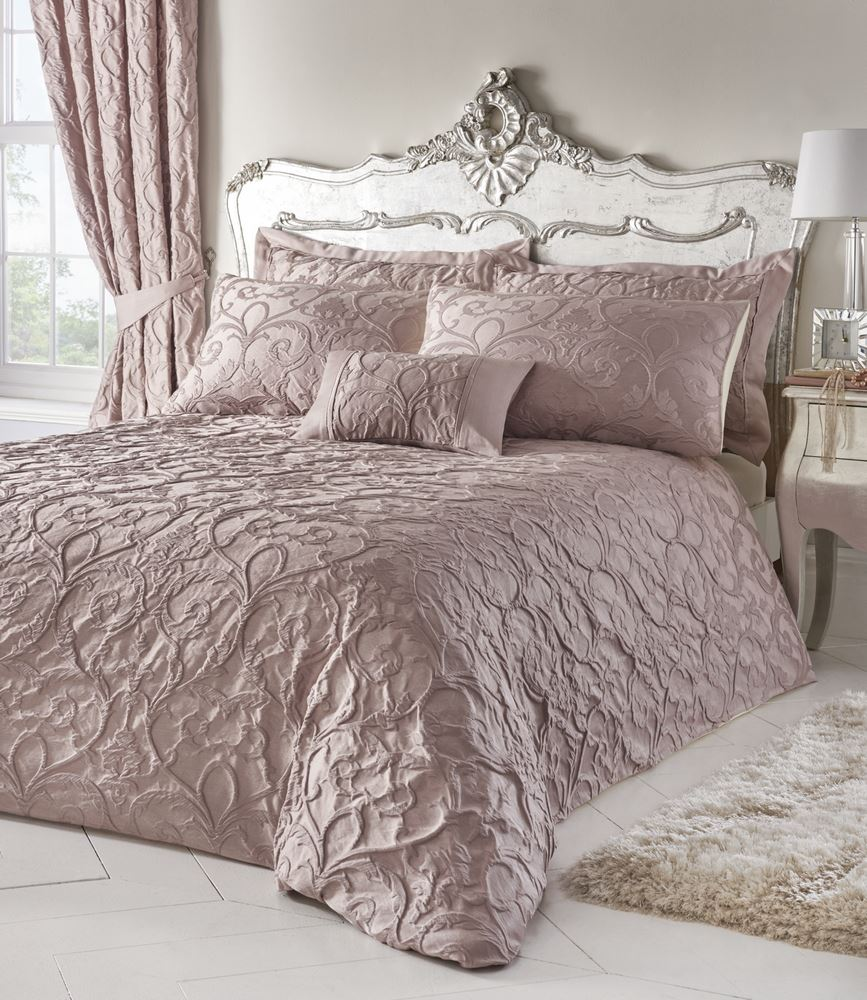 Damask Duvet Cover Bedding Bed Set Or Accessories Woven ...