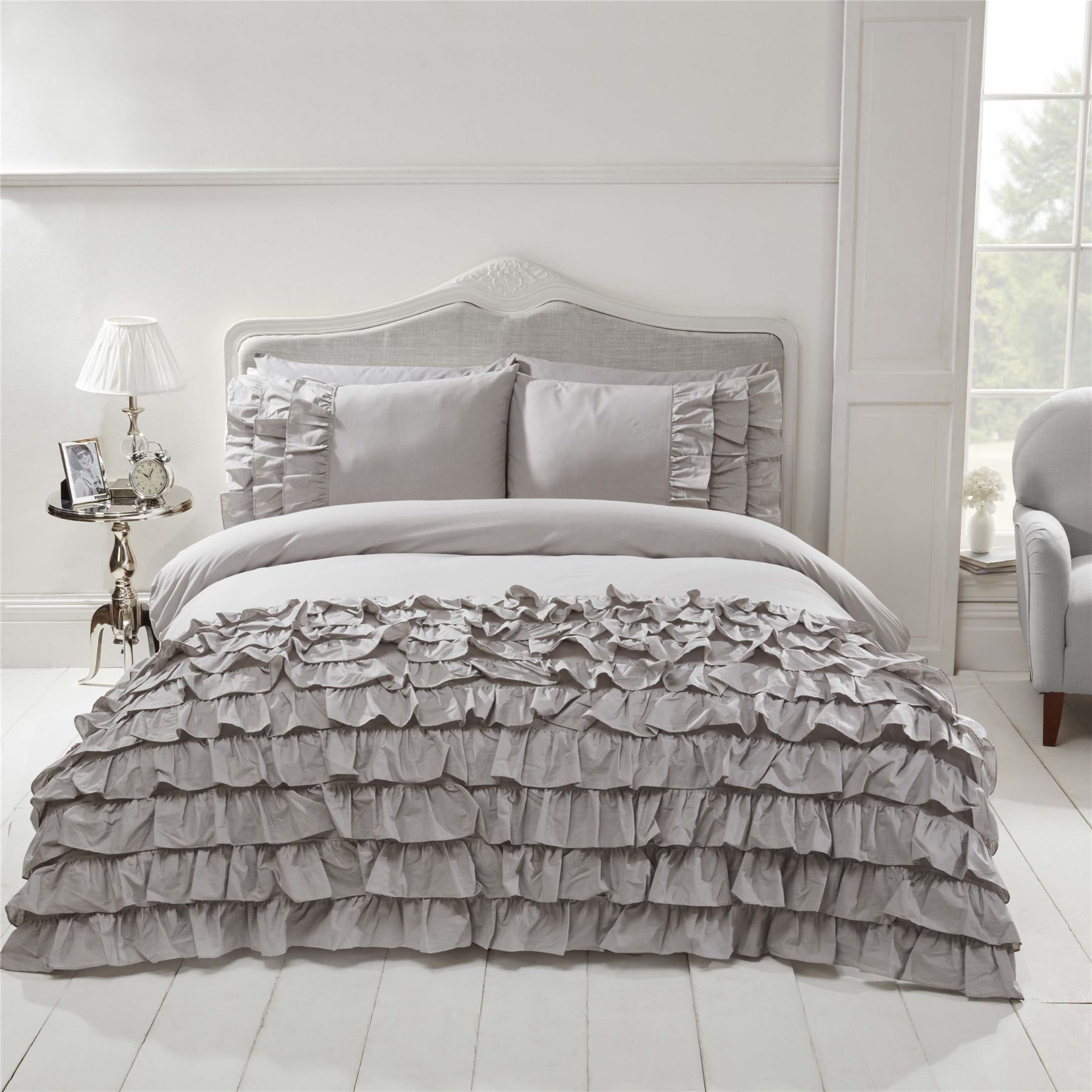grey scheme davies sah bed bedding ideas white calm claire bedroom decorating and colour