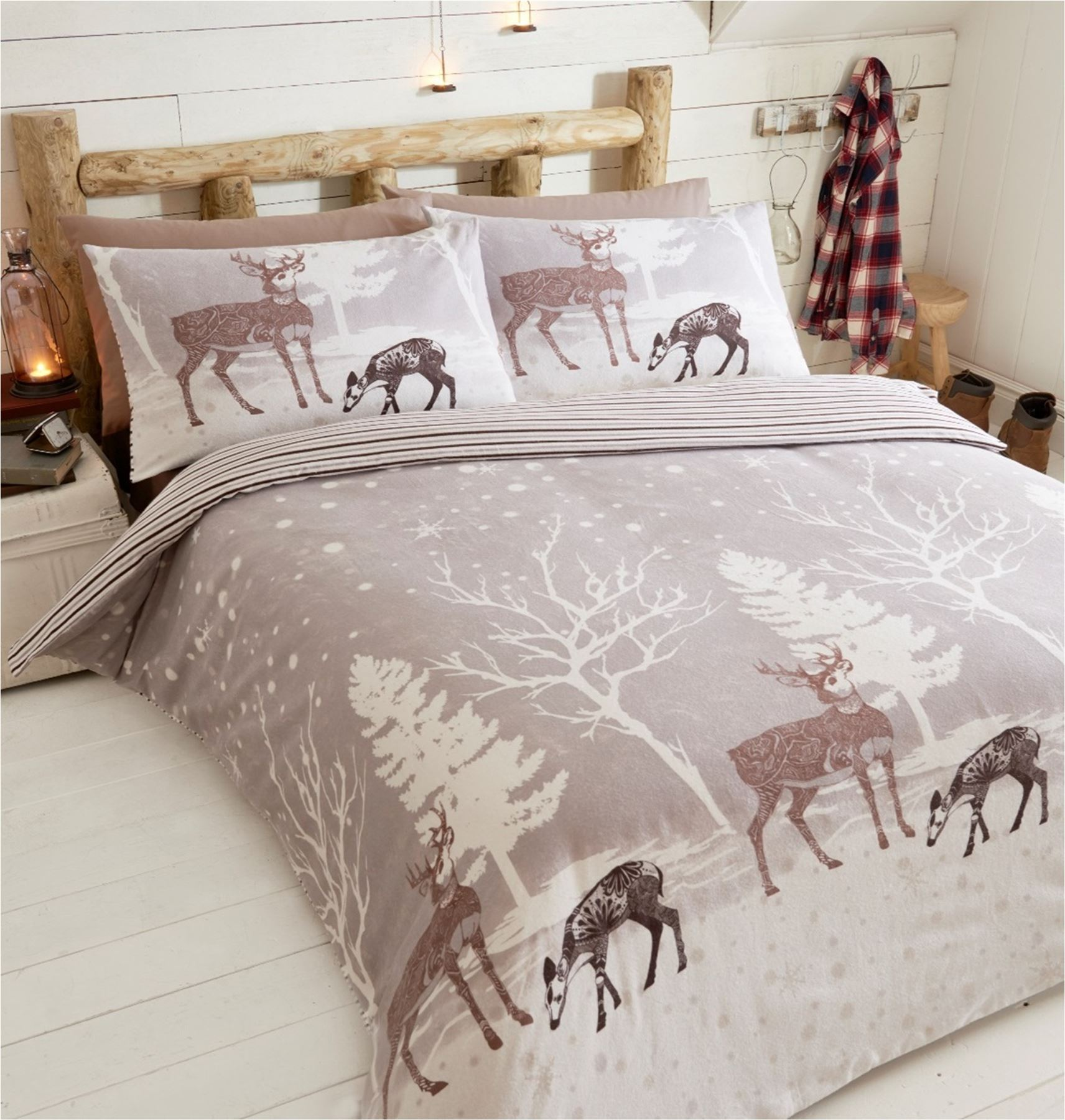 100 cotton flannelette quilt duvet cover bedding bed sets. Black Bedroom Furniture Sets. Home Design Ideas