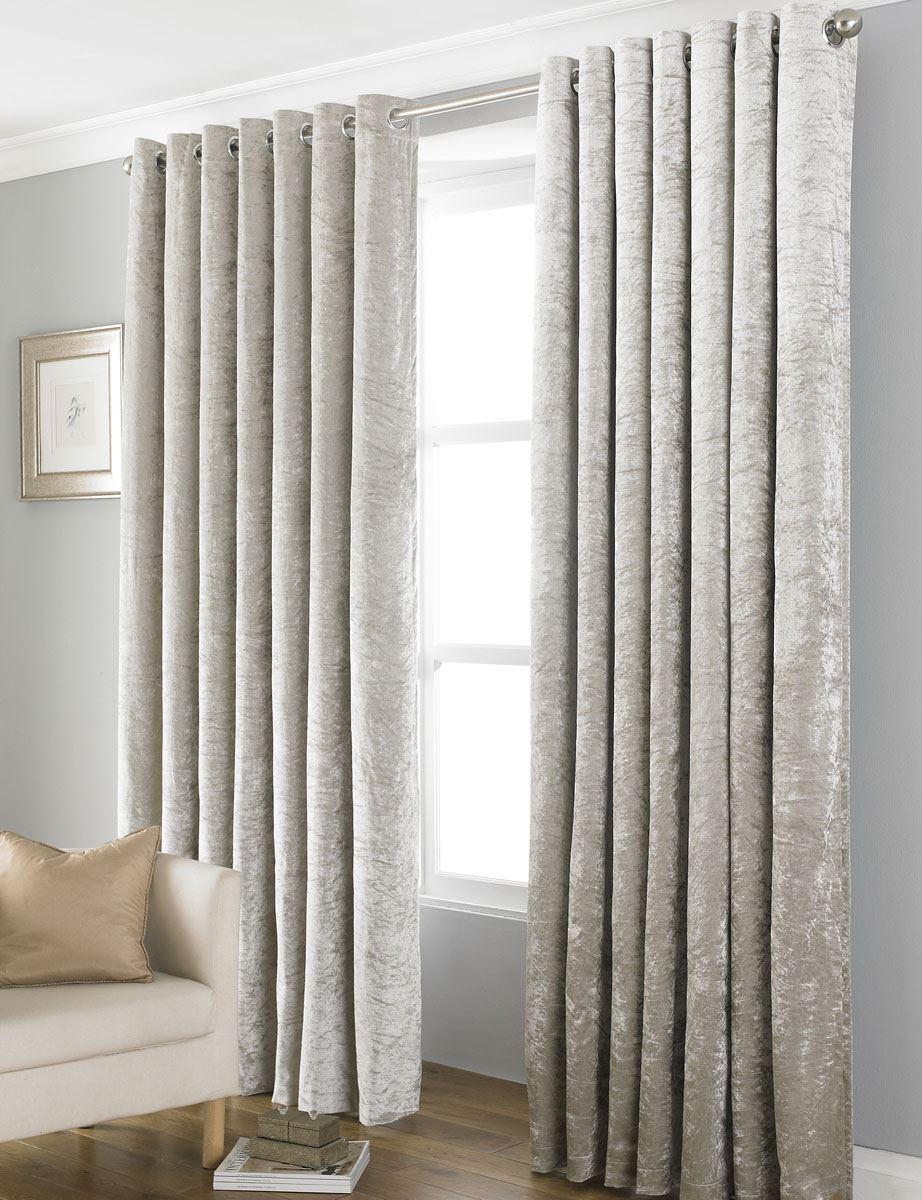 Crushed Velvet Curtains Australia Flisol Home