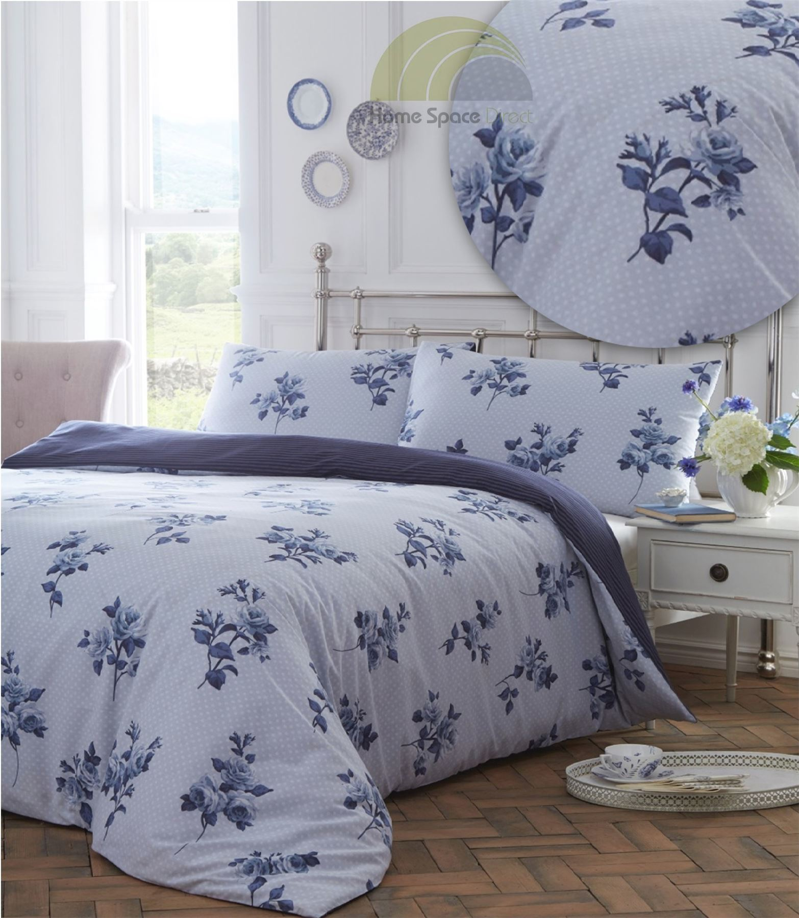 Lyckoax Duvet Cover And Pillowcase S White Lilac: Floral Modern Quilt Duvet Cover & Pillowcase Bedding Bed