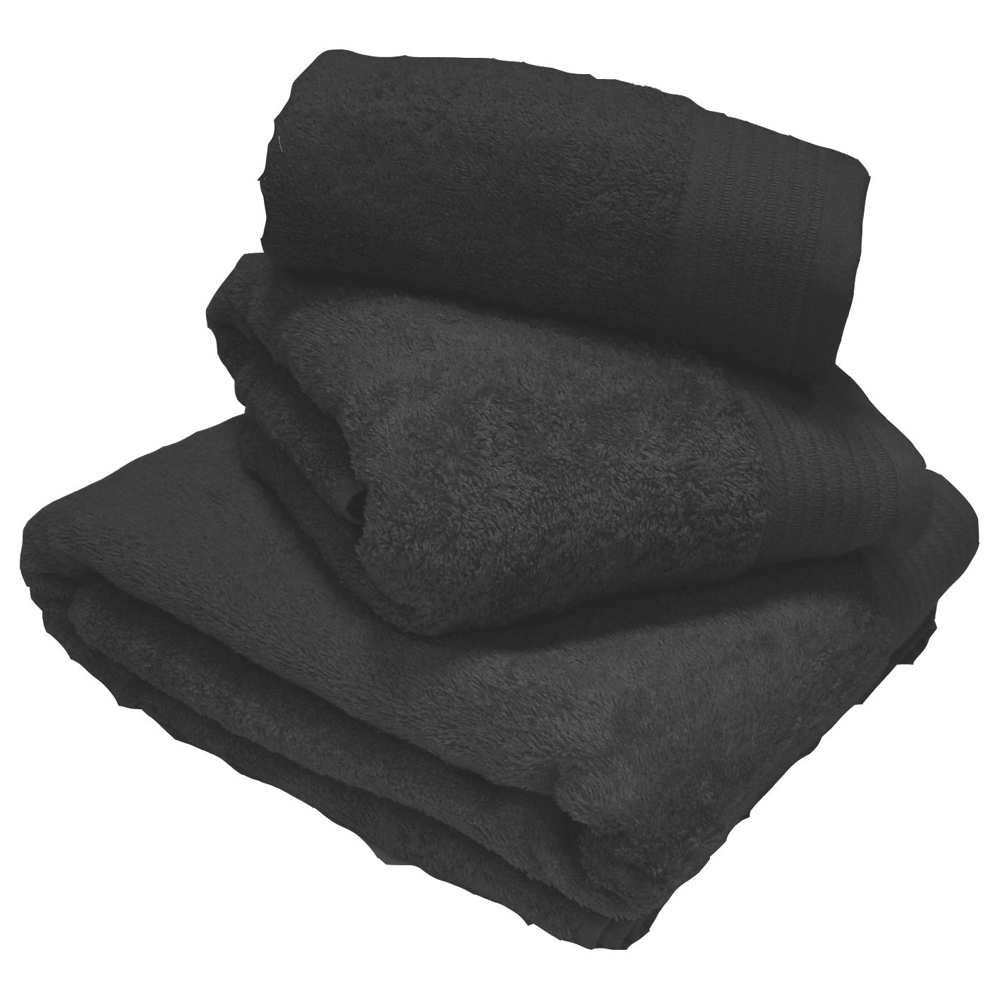 Luxury 100 Egyptian 600gsm Cotton Thick Heavyweight Combed Towels