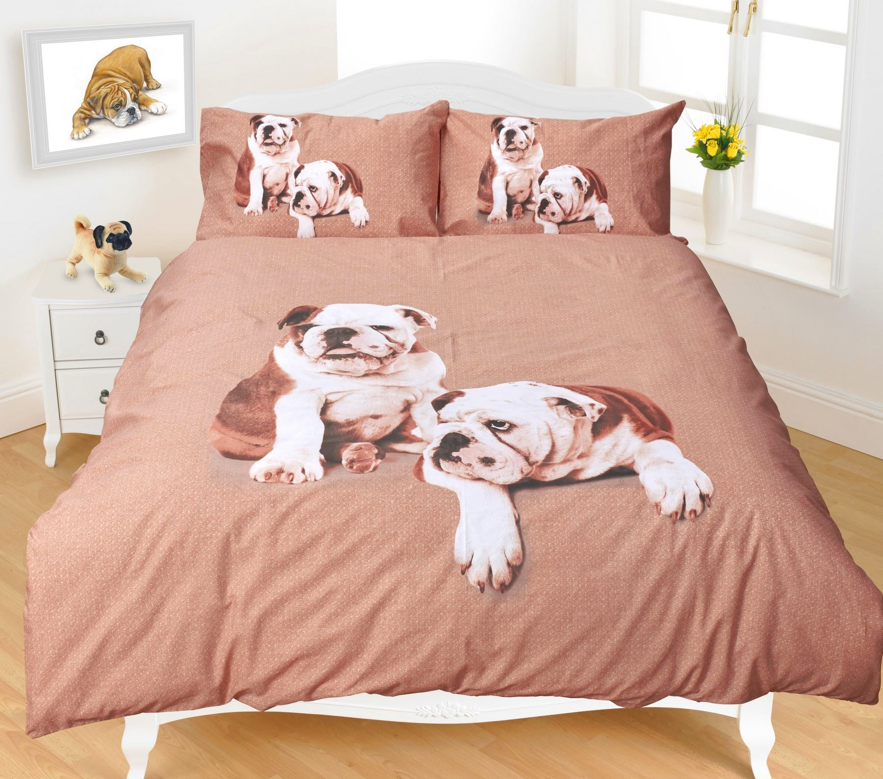 Animal Quilt Duvet Cover Amp Pillowcase Bedding Bed Set