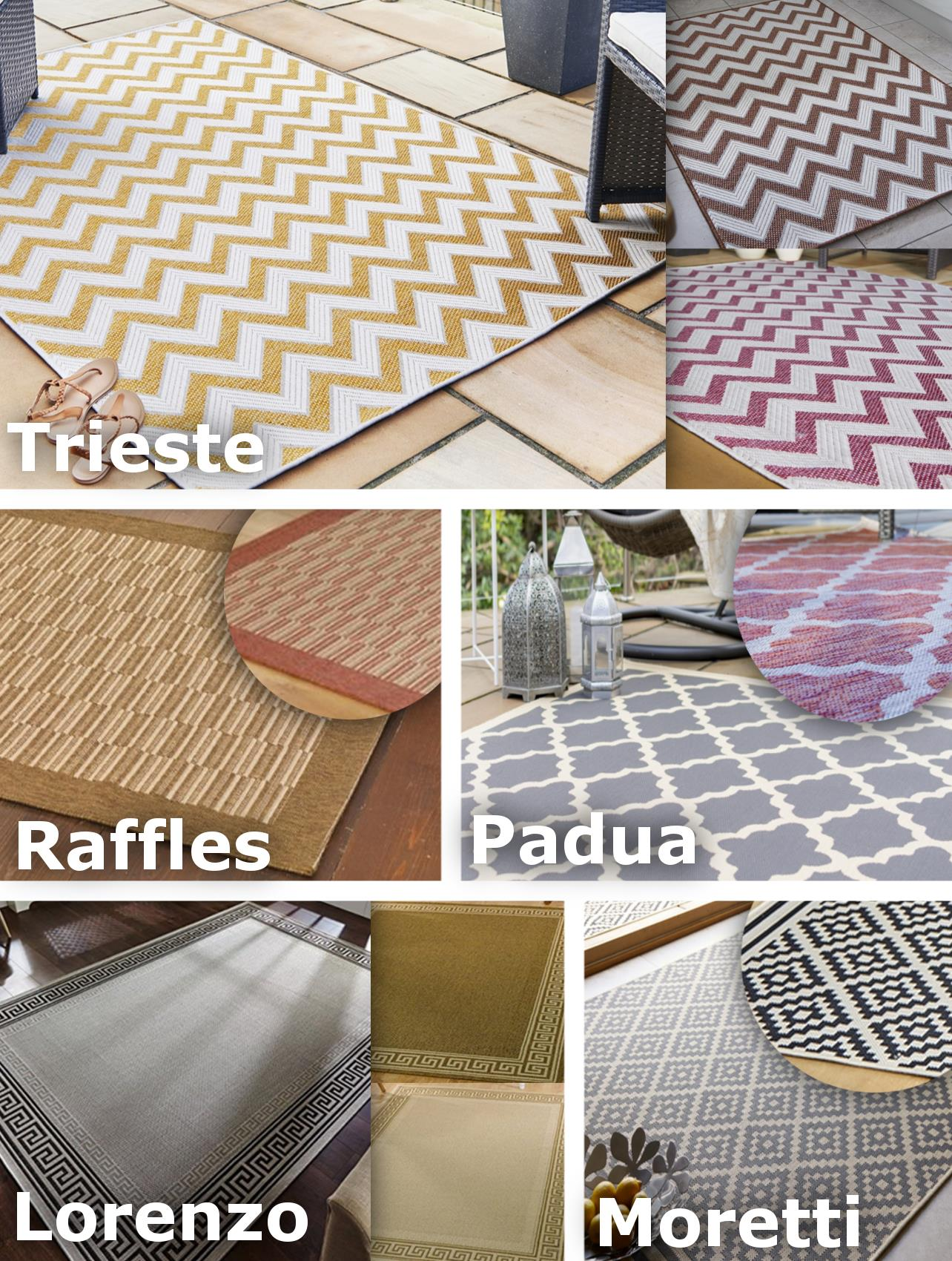 Details About Indoor Outdoor Rug Mat Runner Carpet Small Large Hard Wearing 5 Designs New