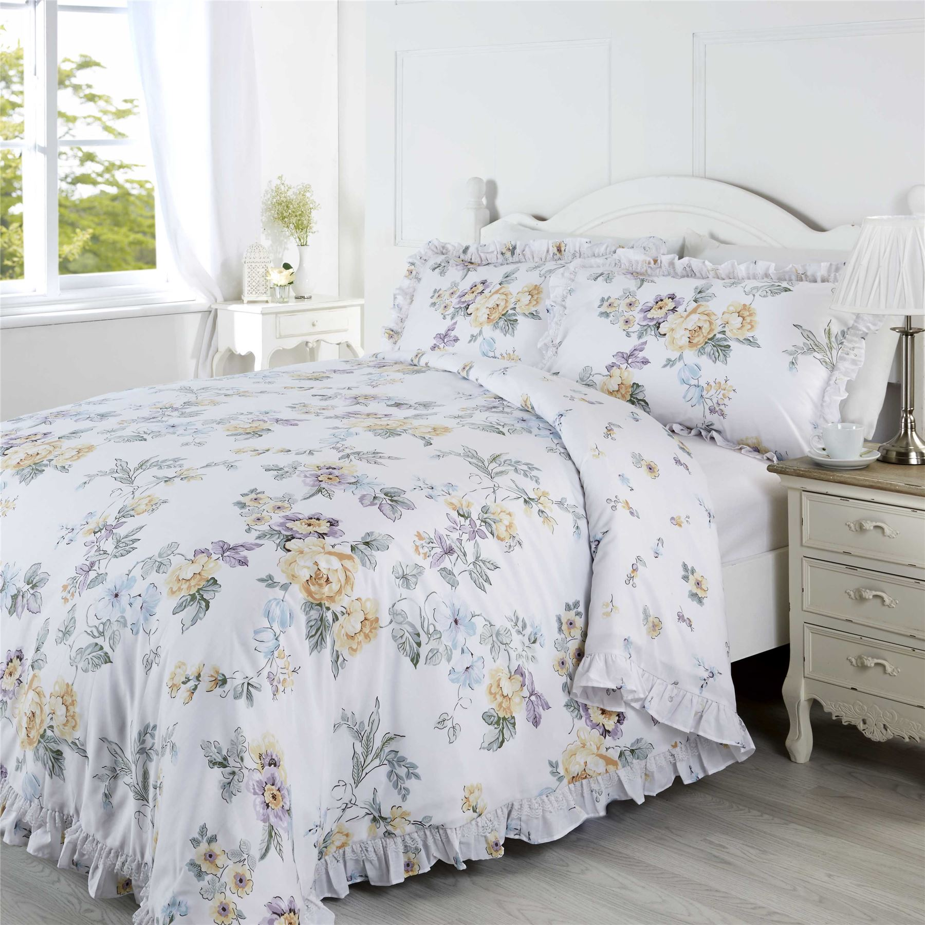 how to put on a king duvet cover