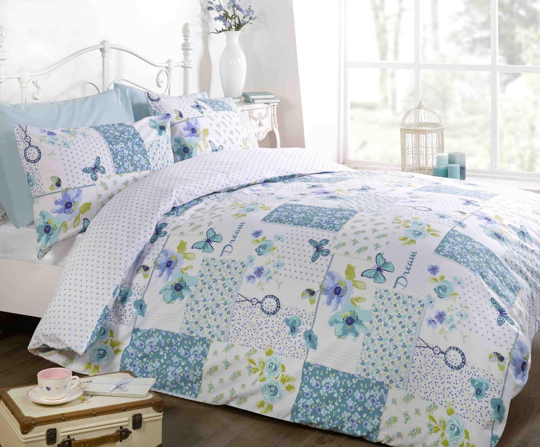 Matrimonio Bed Cover : Floral quilt duvet cover pillowcase bedding bed set