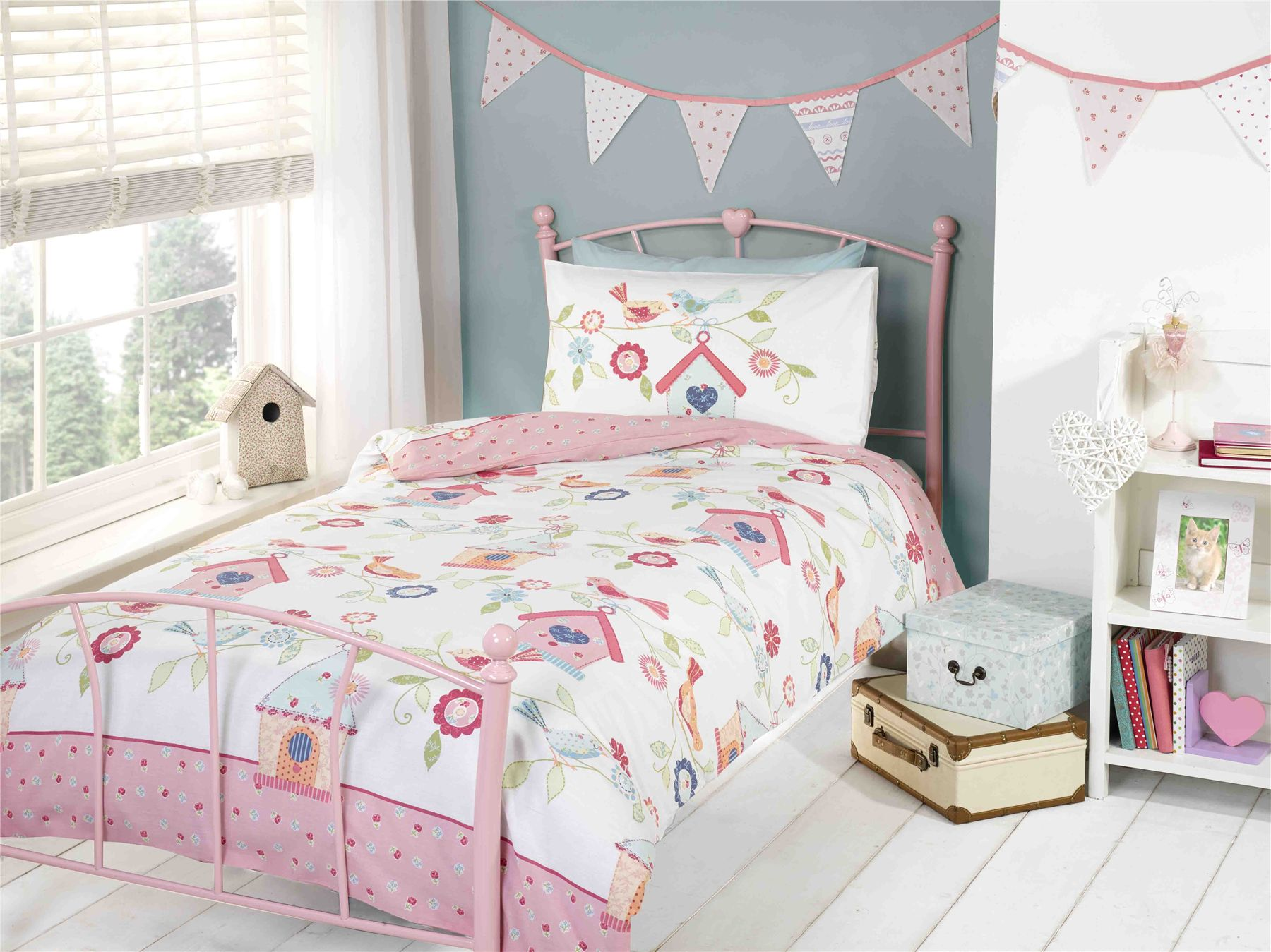 Cot Duvet And Pillow Set