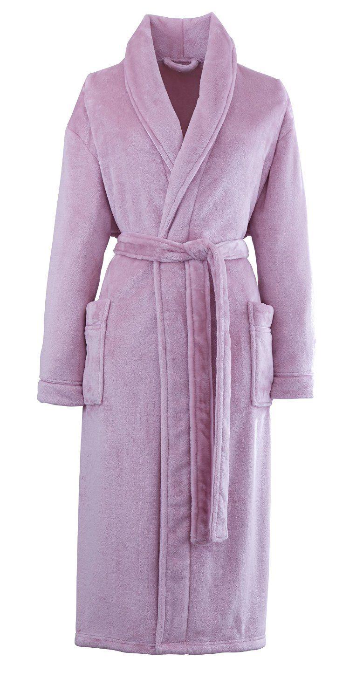 Bathrobe Dressing Gown House Coat Unisex Ladies Mens Gents