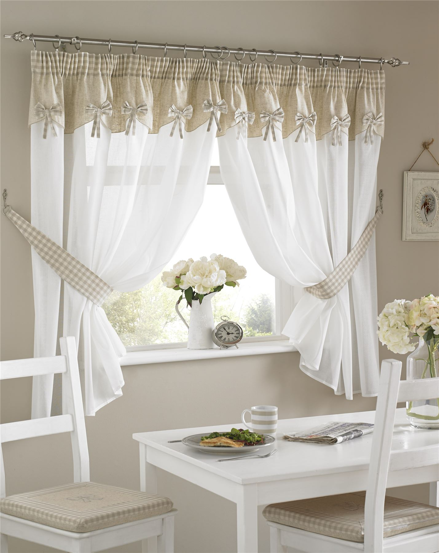 valances rustic window charming kitchen curtains and curtain