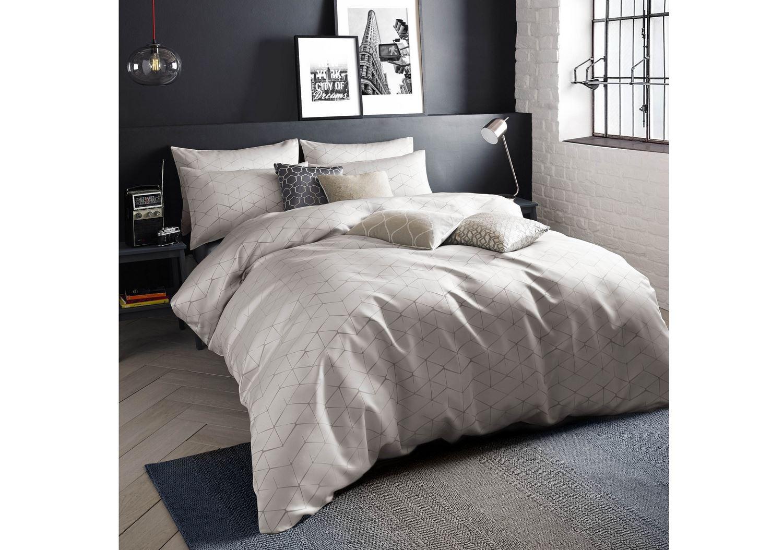 Quilt duvet cover pillowcase bedding bed set modern - Amazon biancheria letto ...