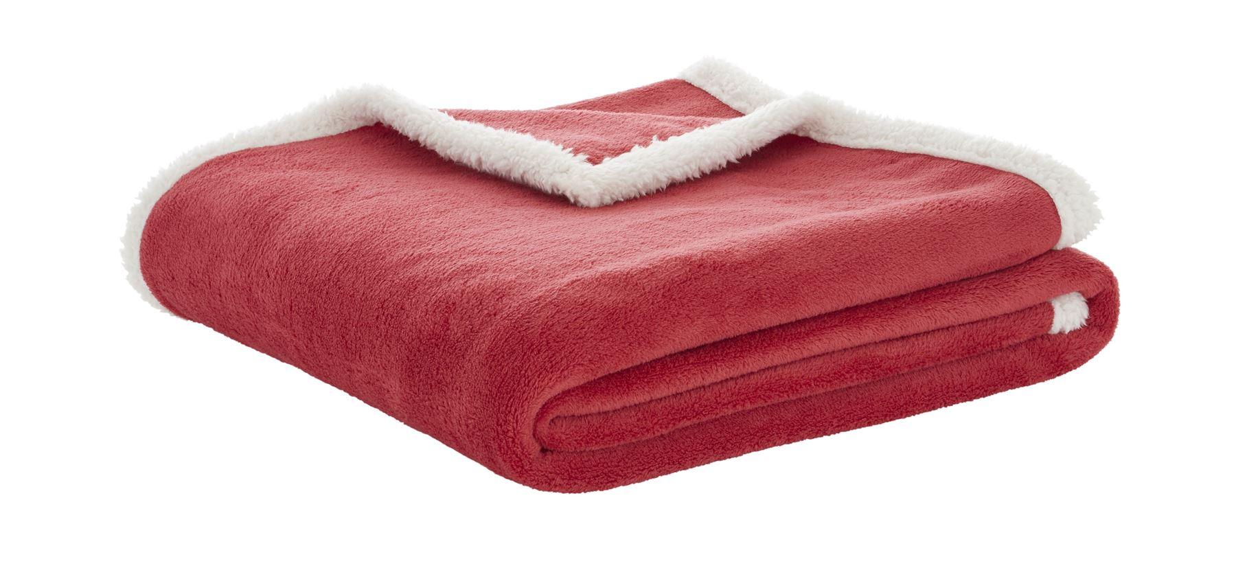 Sherpa Throw Throwover Blanket Soft Bed Sofa Fleece Tartan