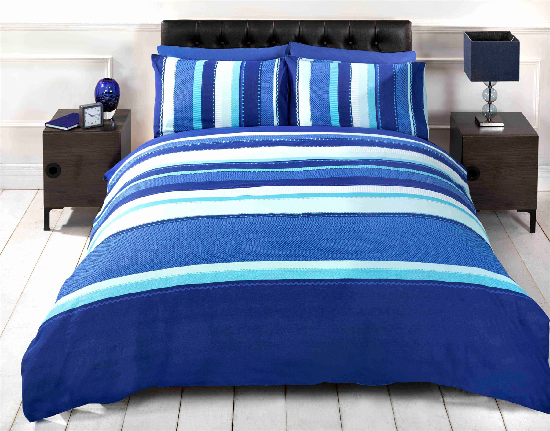 Duvet Cover & Pillowcase Bedding Bed Sets Black Blue Red