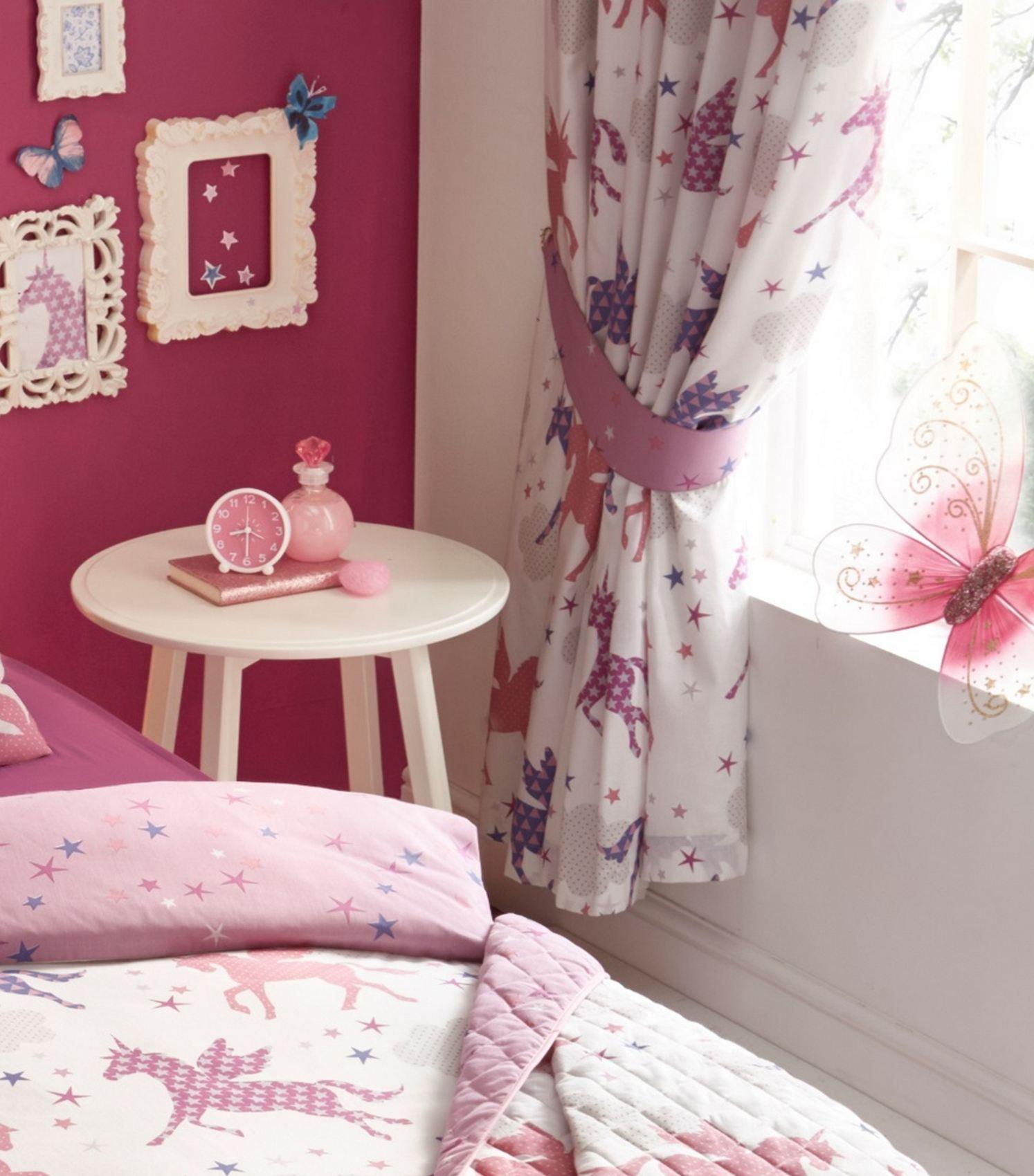 Girls Unicorns Quilt Duvet Cover Amp Pillowcase Bedding Sets