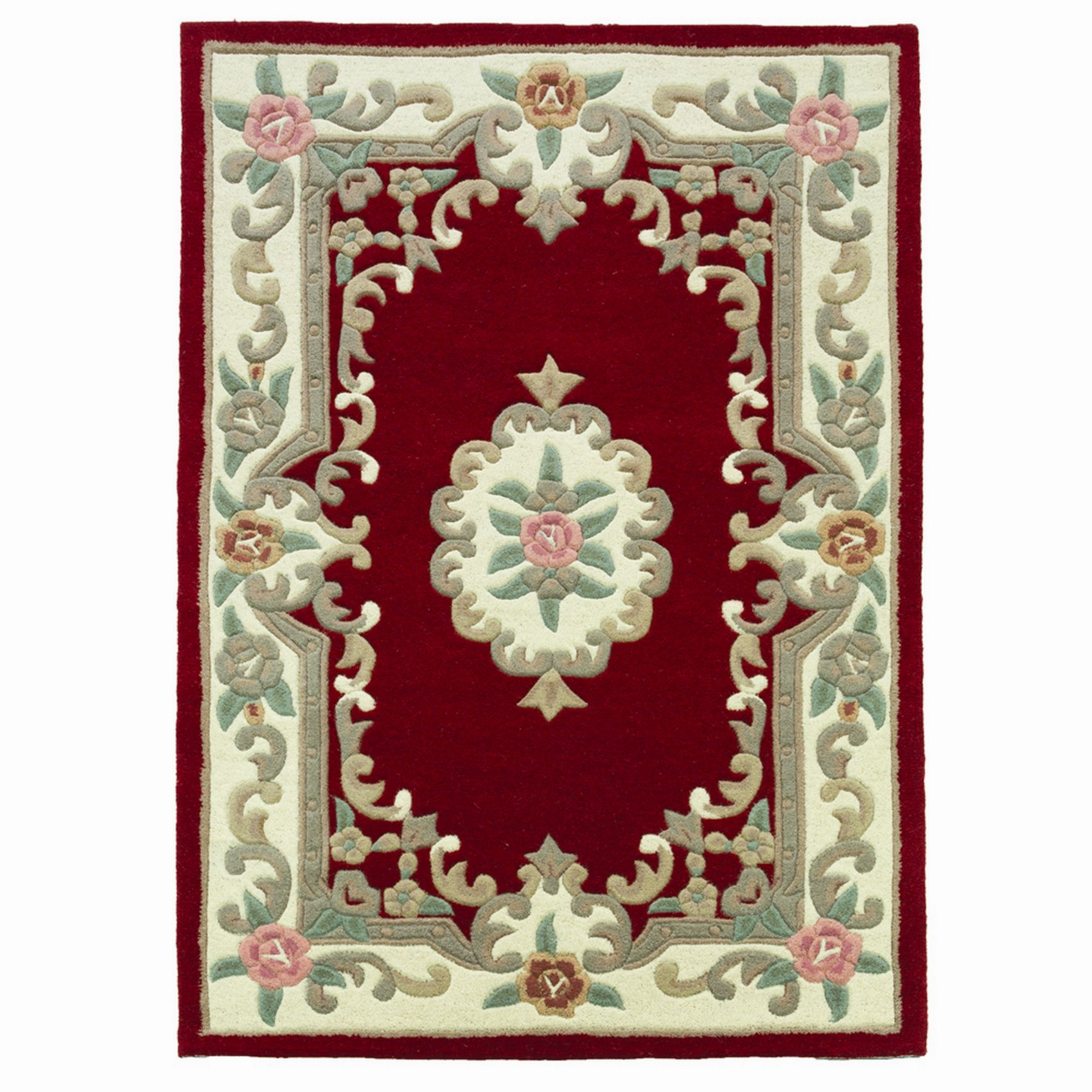 Small Large Pink Rug Cerise Runners Sparkle Modern Thick: Luxury Rugs 100% Wool Thick Hard Wearing Small Large