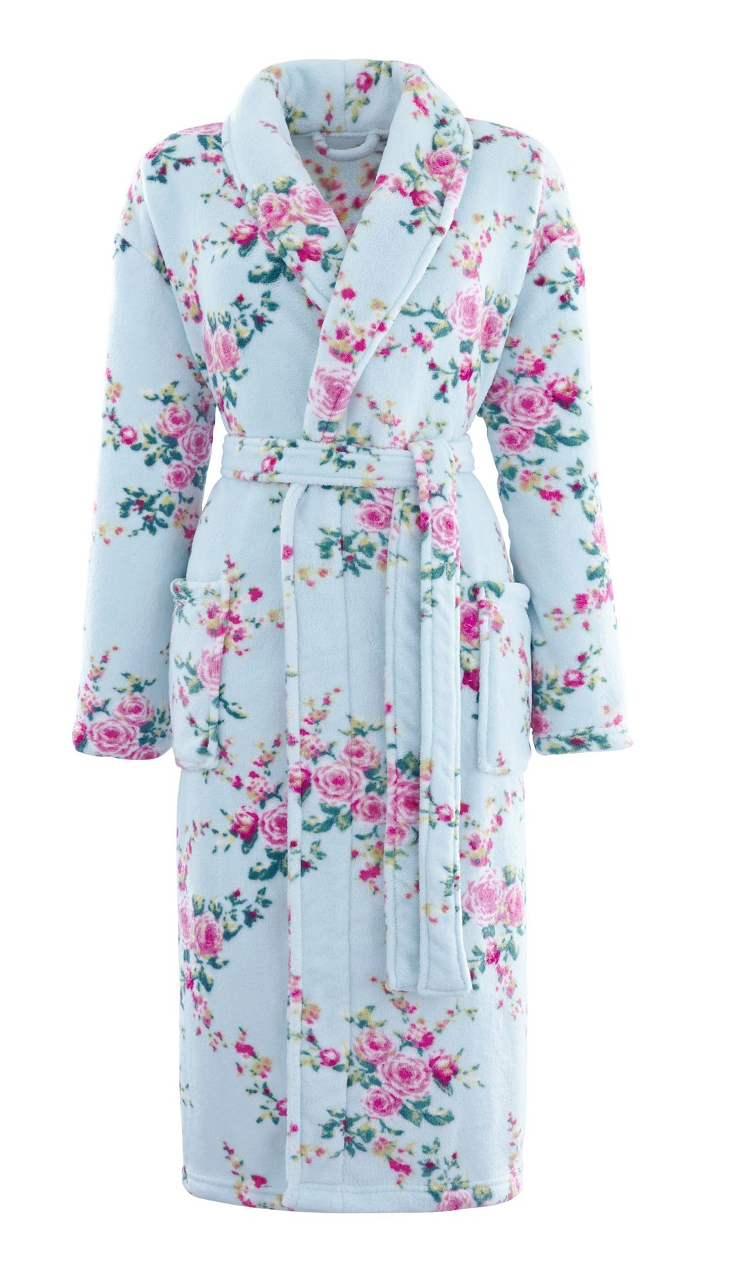 Bathrobe Dressing Gown House Coat Unisex Ladies Mens Gents ...