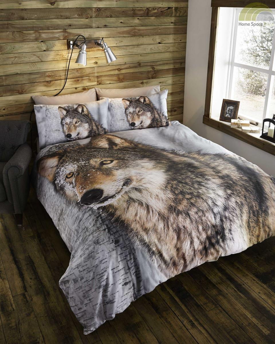 Animal Photographic Print Quilt Duvet Cover Amp Pillowcases