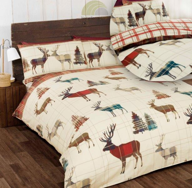 Stag Duvet Cover Amp Pillowcase Quilt Cover Bedding Bed Sets