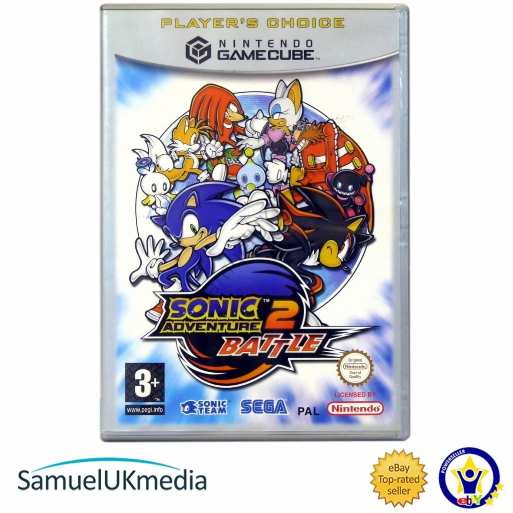 Sonic Adventure 2: Battle (Player`s Choice) (GameCube) **GREAT CONDITION!**