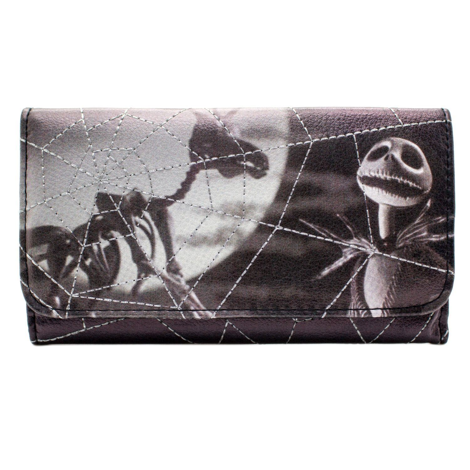 Official Nightmare Before Christmas Skellington Spider Web Purse ...
