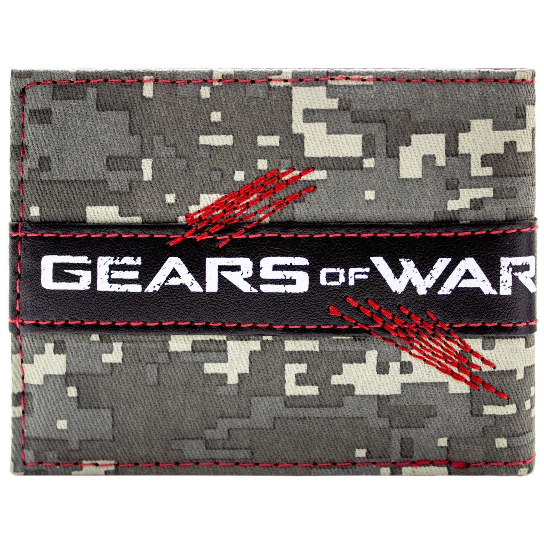 SIGILLATO * NUOVO Ufficiale incredibile pignone Gears OF WAR TESCHIO Bi-Fold Wallet