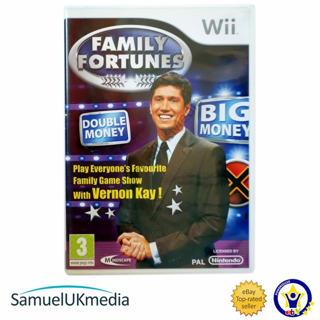 Details about Family Fortunes (Wii) **GREAT CONDITION**