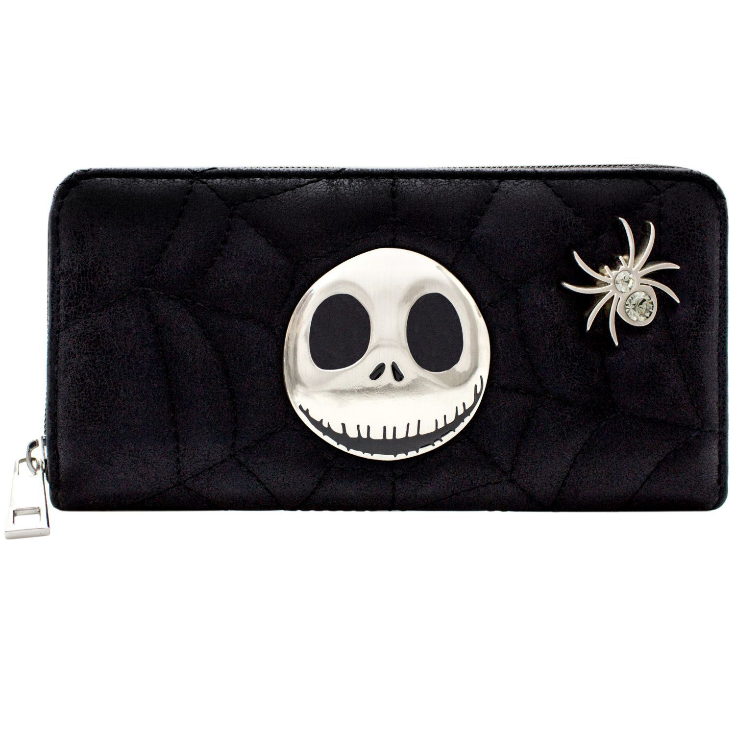 Details about Official Nightmare Before Christmas Quilted Web Coin   Card  Clutch Purse  SECOND 3b465ef096e