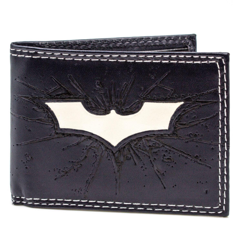 Official Dc Batman Dark Knight Rises Symbol Blue Id Card Wallet