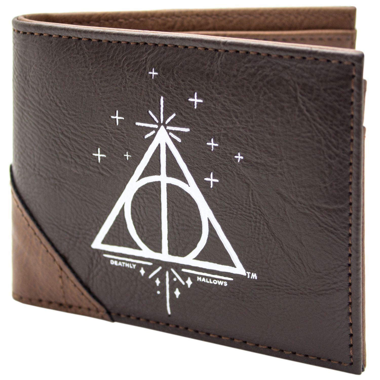 Details zu Harry Potter Heiligtümer des Todes Braun Portemonnaie Geldbörse