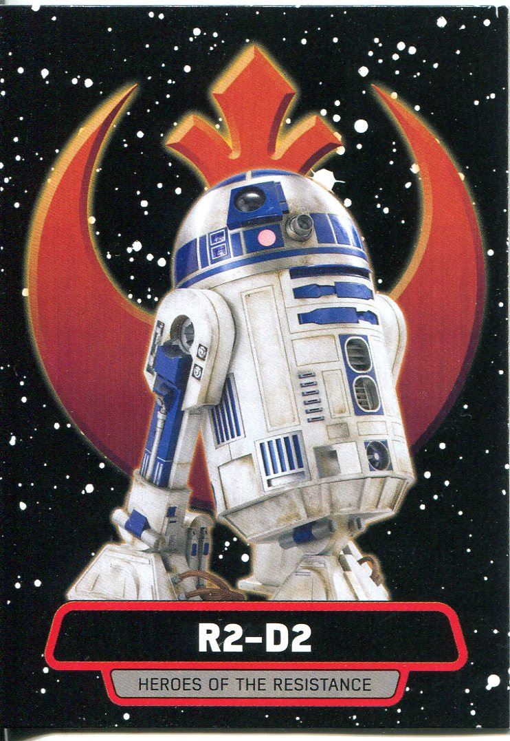 Star Wars Rogue One Mission Briefing Heroes OTRA Chase Card #7 R2-D2
