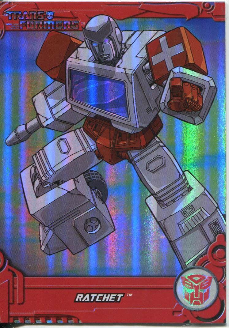 Transformers Optimum Generation 1 Foil Chase Card TF17 Blackout
