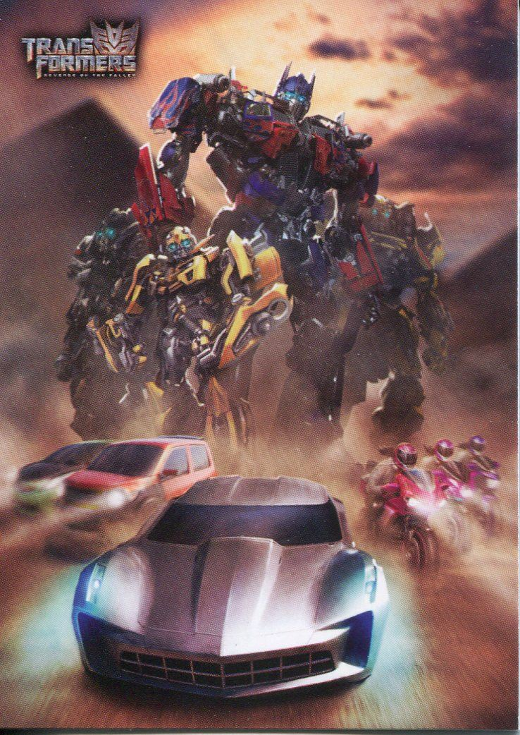 Transformers Revenge Of The Fallen Pop Ups Chase Card 9 Of 9