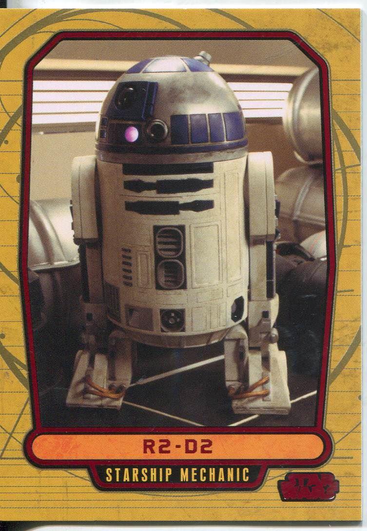Star Wars Galactic Files Reborn Blue Parallel Base Card REB-1 Kanan Jarrus