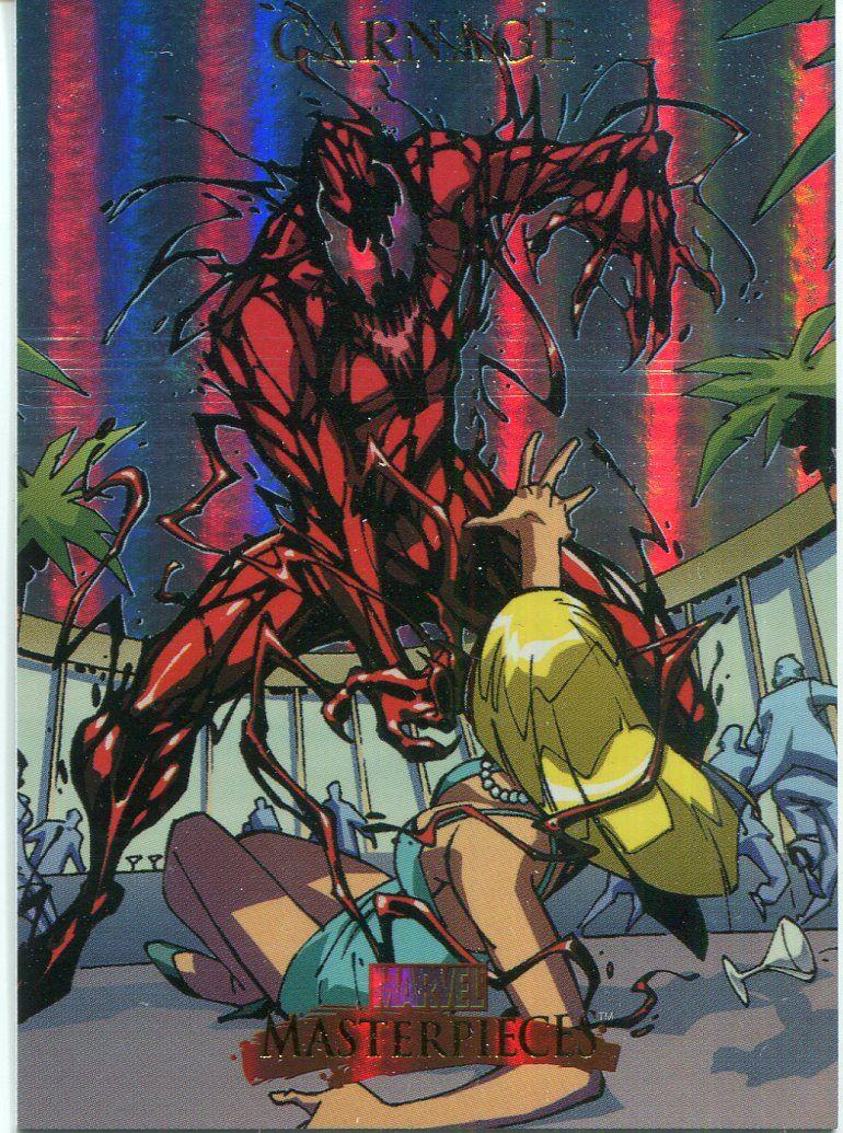 Marvel Masterpieces 2007 Fleer Foil Parallel Base Card #76 Silver Sable