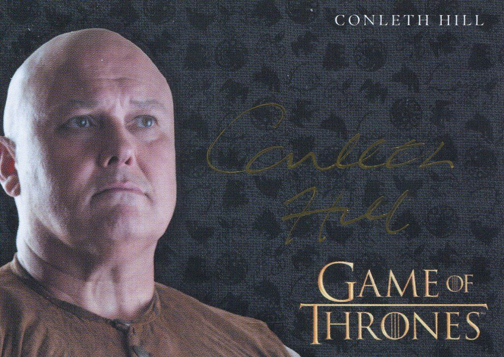 Precise Game Of Thrones Season 3 Non-sport Trading Cards Conleth Hill As Lord Varys Autograph
