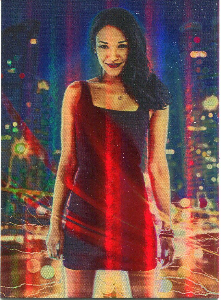 Details about The Flash Season 1 Foil Character Bios Chase Card CB2 Iris  West