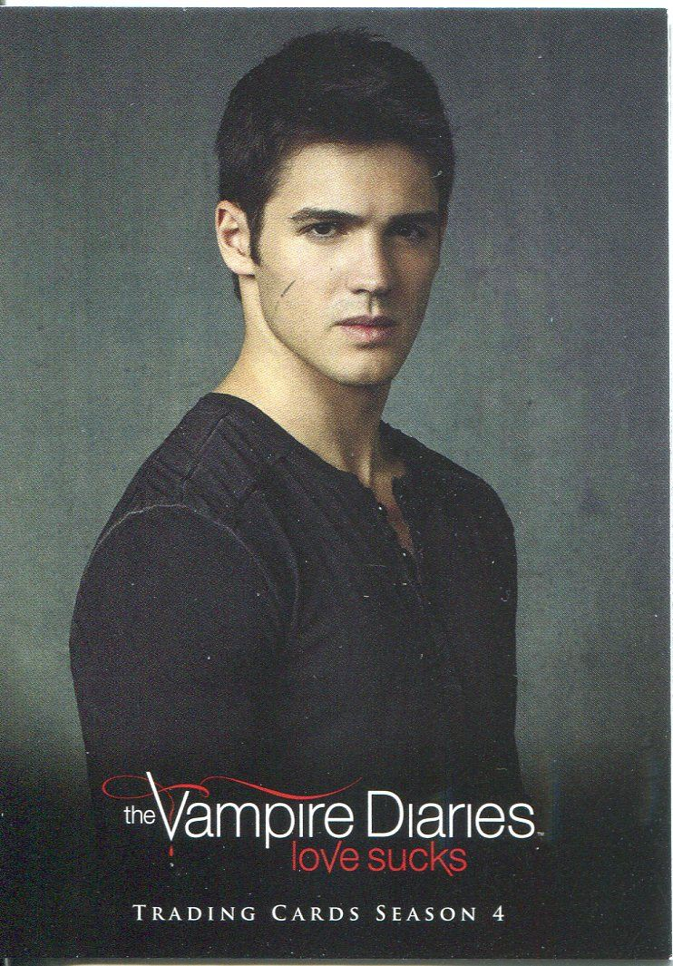 Details about Vampire Diaries Season 4 Studio Chase Card S4 Jeremy Gilbert