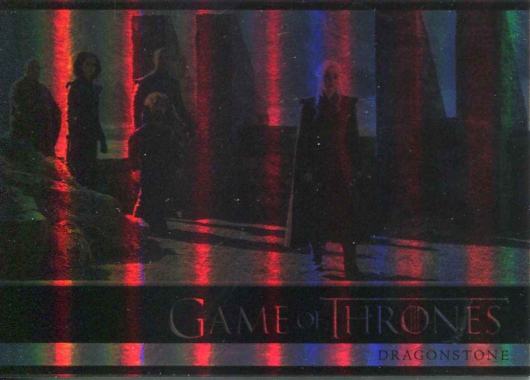 BASE Card #46 Jacob Anderson 2018 // Game of Thrones Season 7 GREY WORM