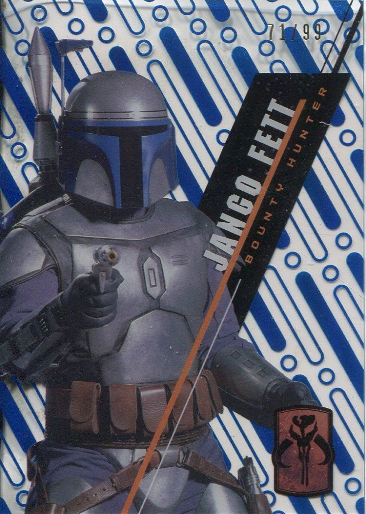 Star Wars 2016 High Tek Pattern 3 Form 1 Base Card SW-25 Jango Fett
