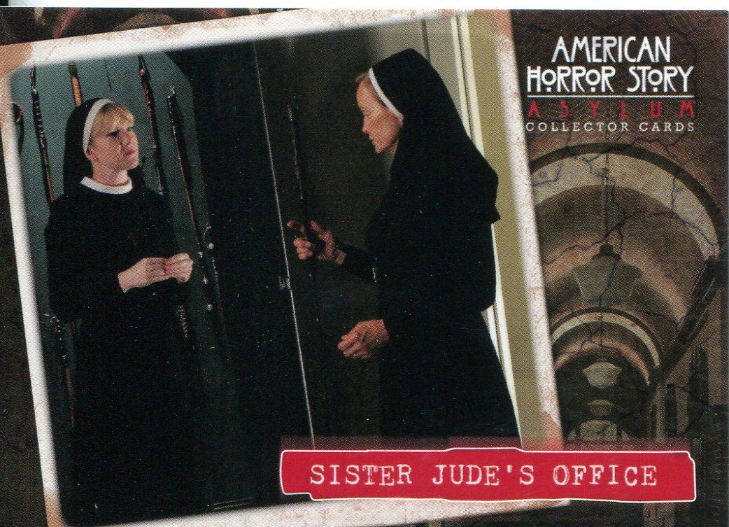 American Horror Story Asylum Welcome To Briarcliff Chase Card WB6