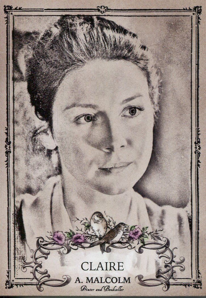 Outlander Season 3 Characters Chase Card C1 Claire