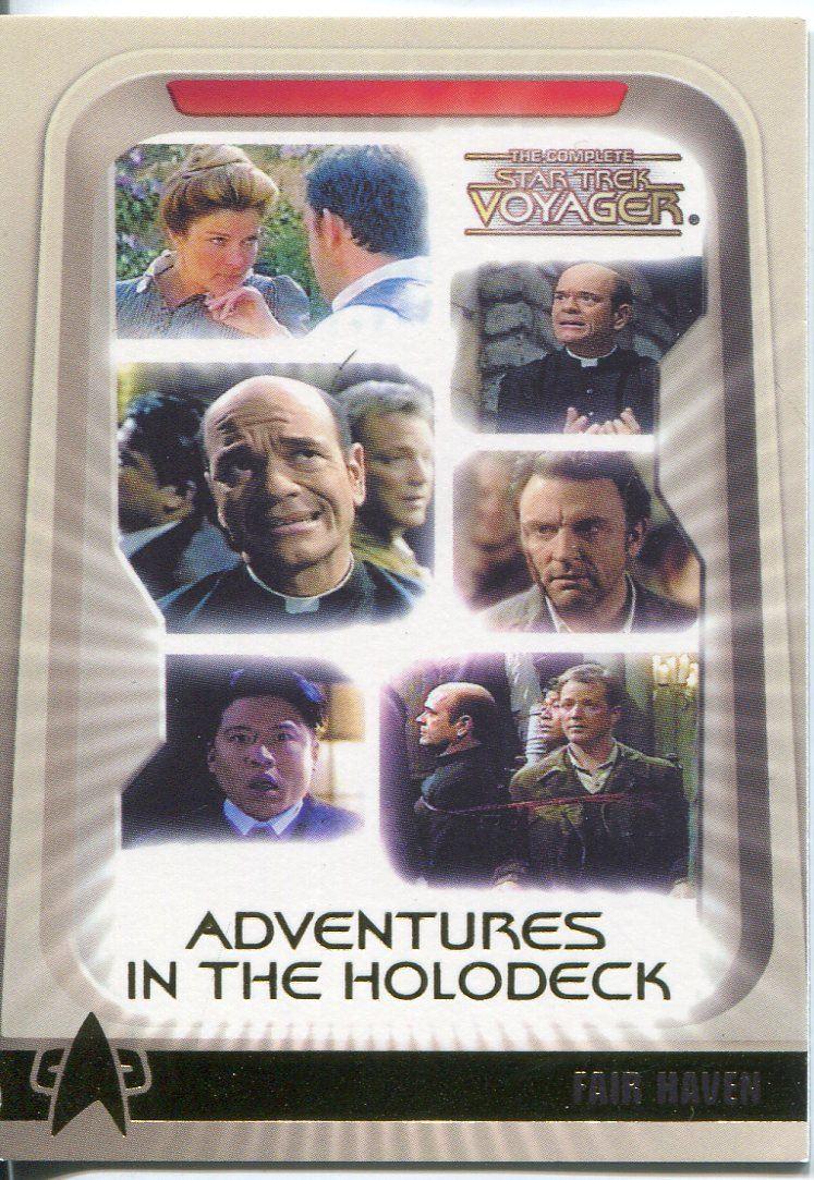 Complete Star Trek Voyager Holodeck Chase Card Set H1-H9