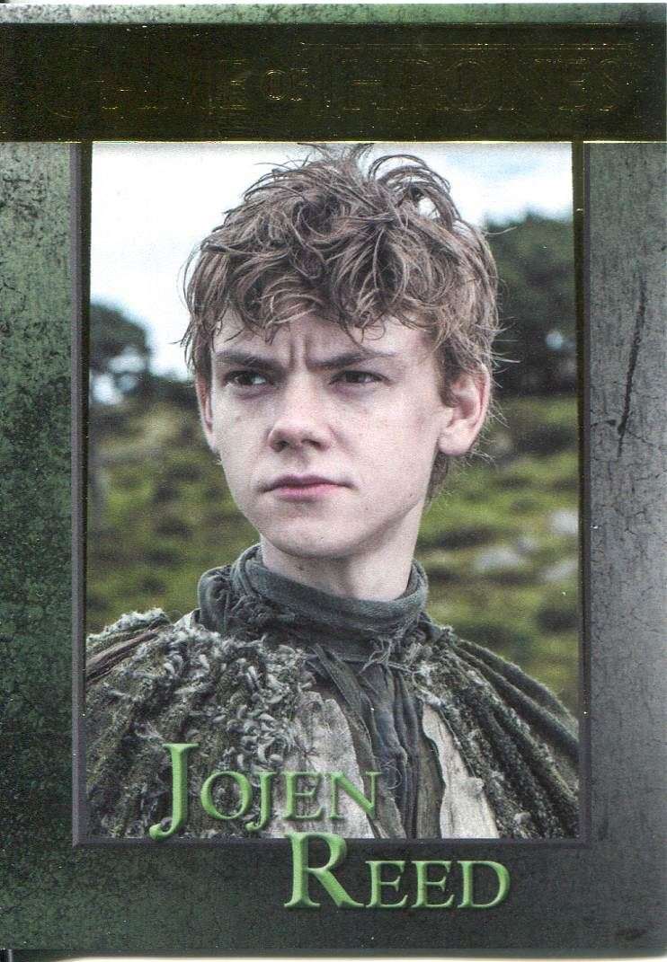 Game Of Thrones Season 3 Foil Parallel Base Card  88 Jojen Reed