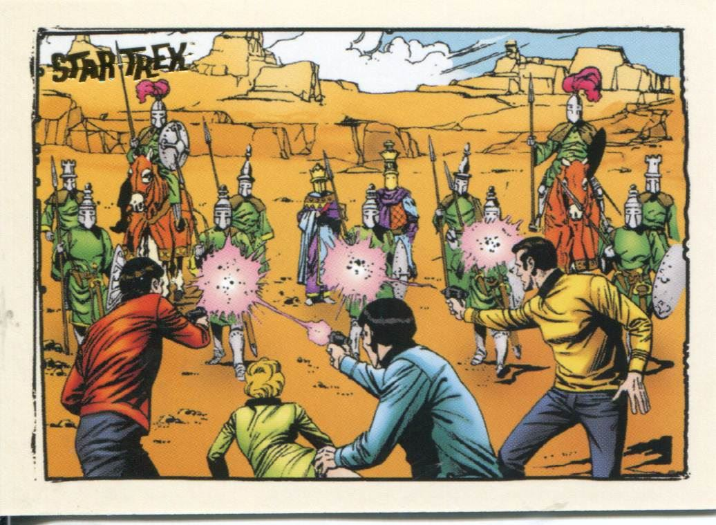 Star Trek TOS Art /& Images Gold Key Comic Book Art Chase Card GK48
