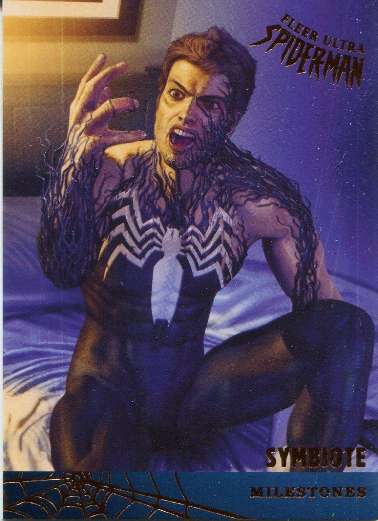 Spiderman Fleer Ultra 2017 Milestones Chase Card M-6 Kravens Last Hunt