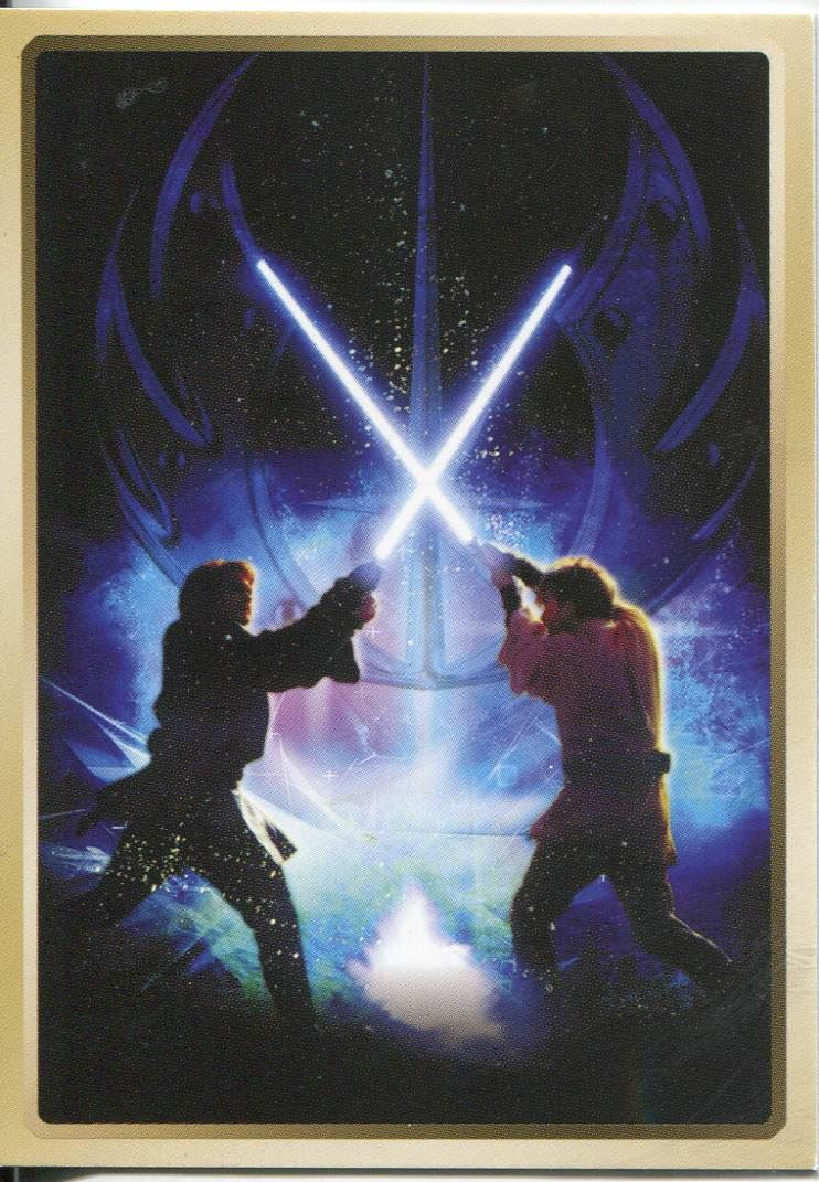 Star Wars Revenge Of The Sith Retail Excl Embossed Vader Chase Card #5