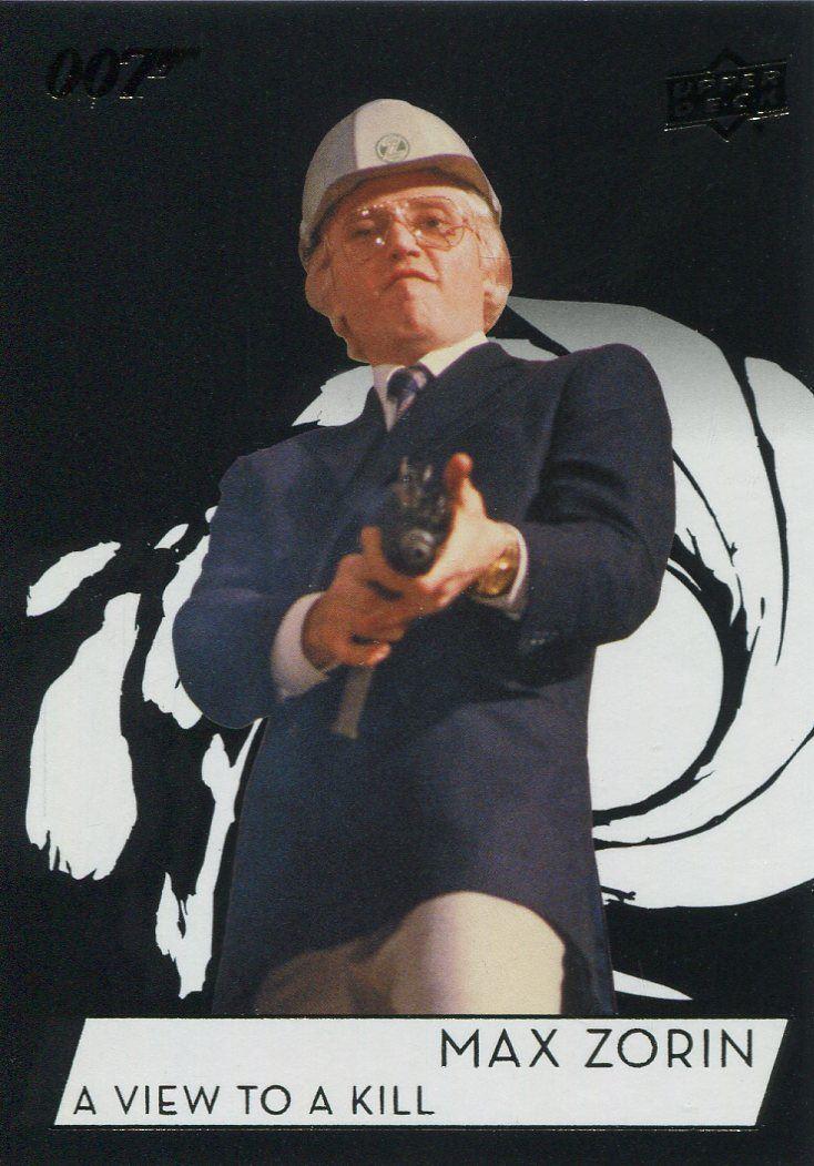James Bond Collection SP Base Card #122 Christopher Walken as Max Zorin