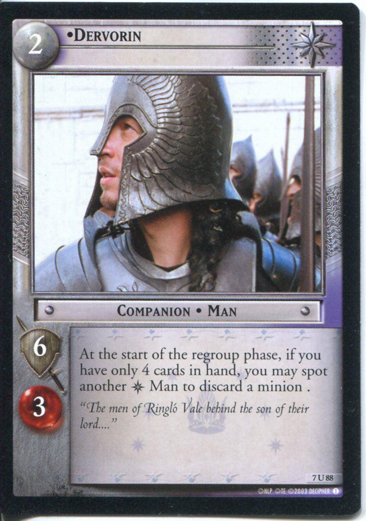 Lord Of The Rings CCG Card RotK 7.U336 Rohirrim Camp