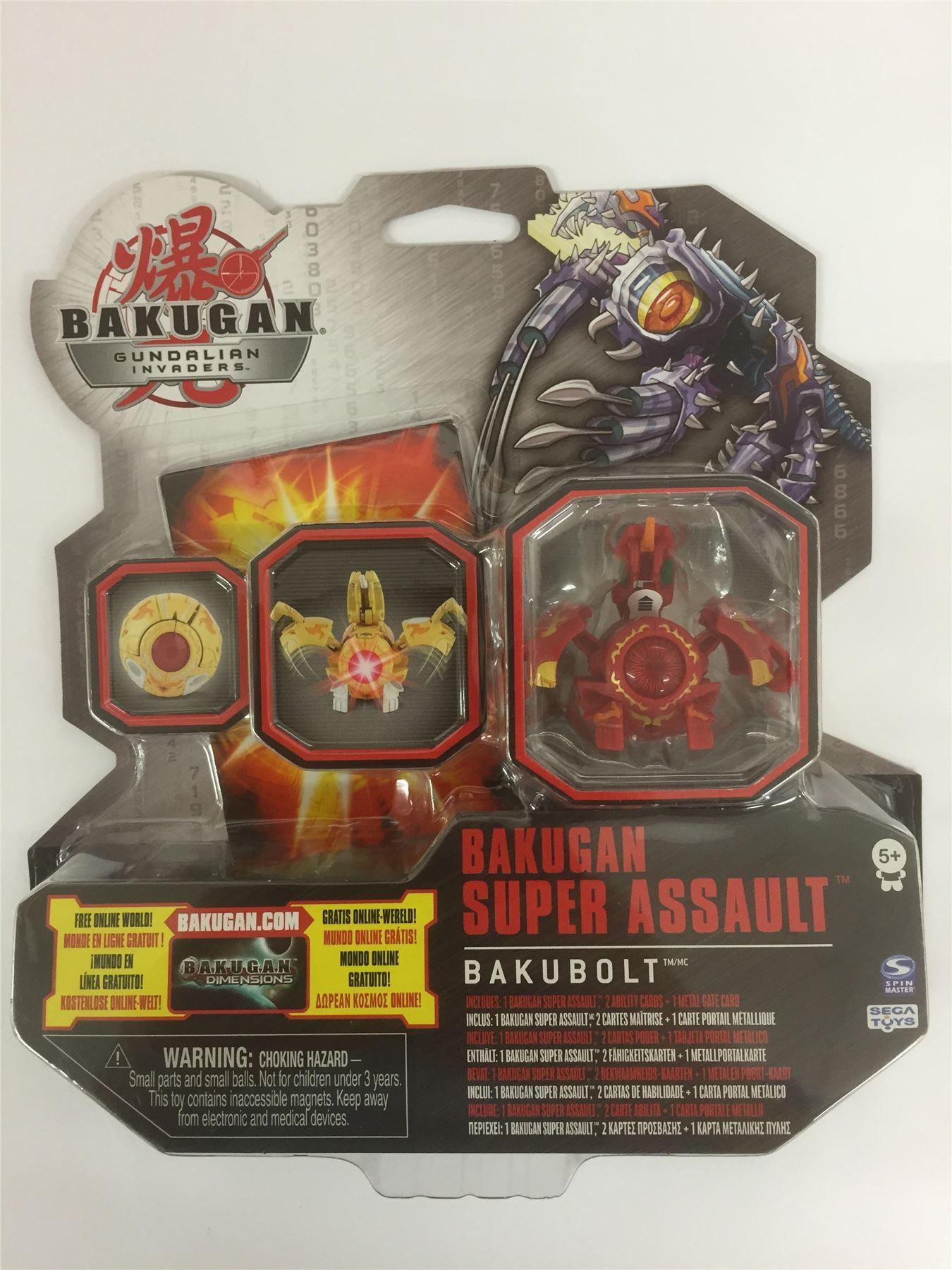 Bakugan Gundalian Invaders Super Assault BAKUCHANCE Rouge